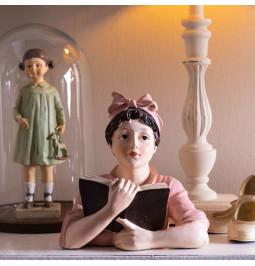 Decoration woman w 16*11*19 cm