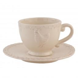 Ceramic cup cream color...