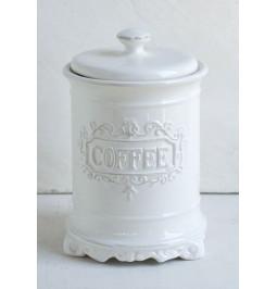 Jar ceramic effect white...