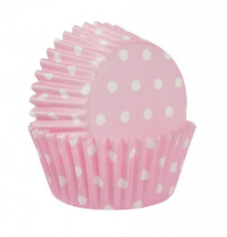 Paper cup cake baking polka...