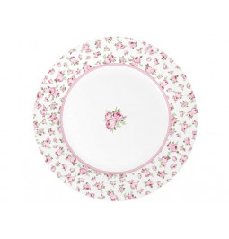 Tiny flowers dinner plate...