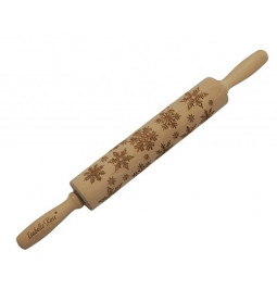 Rolling pin WOODEN with...