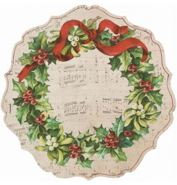 Placemat Christmas Garland...