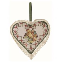 Vintage Postcard heart...