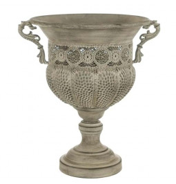 Decorative vase in metal cm...