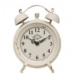 Clock / alarm 'Lucie' metal...