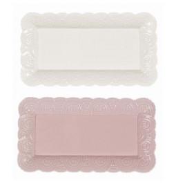 Tray ceramic White or Pink...