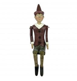 Pinocchio in poliresina...
