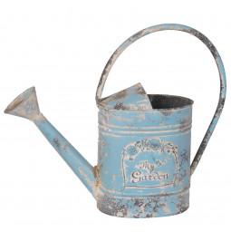 Watering can metal blue...