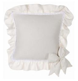 La cubierta de la almohada...