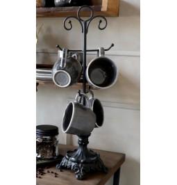 Door cups antique black cm...