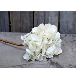 Flower hydrangea white h cm 46