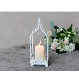 Antique cream lantern with...