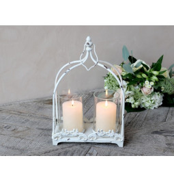 Lantern cream with antique...