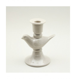 Small ceramic grey bird...