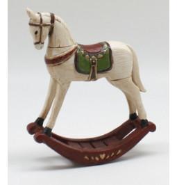 Resin rocking horse cm: 15...