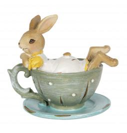 Decoration rabbit cm 10*8*9...
