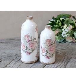 Vase 'Naves' floral ceramic...