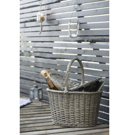 Picnic basket with lid,...