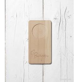 Chopping board in beech...