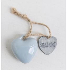 Decoro cuore in ceramica...