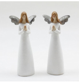 Resin angel with joined...