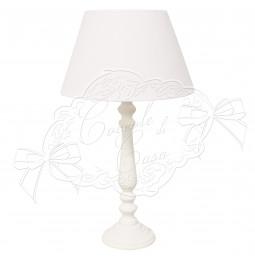 Lampe 'Janet' en bois avec...