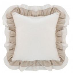 Romantic line pillow White...