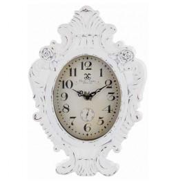 Orologio legno MDF bianco...