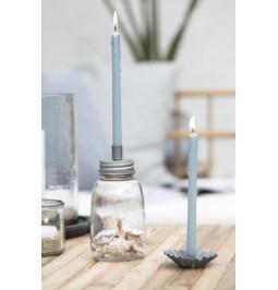 Candle long BLUE H 20 cm Ø...