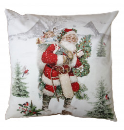 Christmas pillowcase cm 45 * 45 100% polyether Clayre EEF