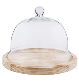 Glass Food cover with...