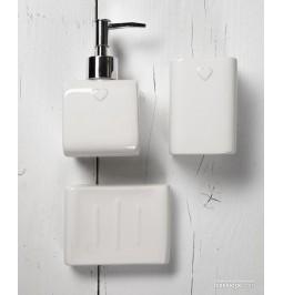 White ceramic 3 Piece...