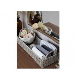 Rectangular rattan tray...