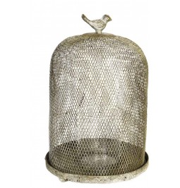 Lanterna in rete metallica...
