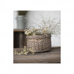 Wicker baskets, baskets, wooden molds